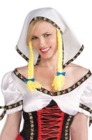 Fraulein Headpiece with Pigtails