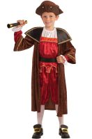Christopher Columbus Child Costume (S)