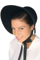 Felt Bonnet (Black)