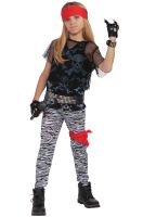 80s Rock Star Boy Child Costume (Large)