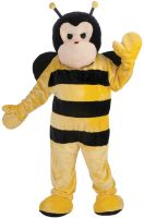 Deluxe Plush Bee Mascot Adult Costume
