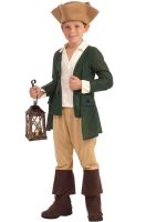 Paul Revere Child Costume (M)