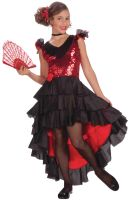 Spanish Dancer Child Costume (Medium)
