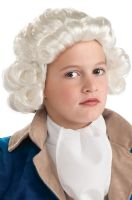 Child Colonial Boy Wig (White)
