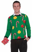Christmas Sweater Ornaments Adult Costume (L)