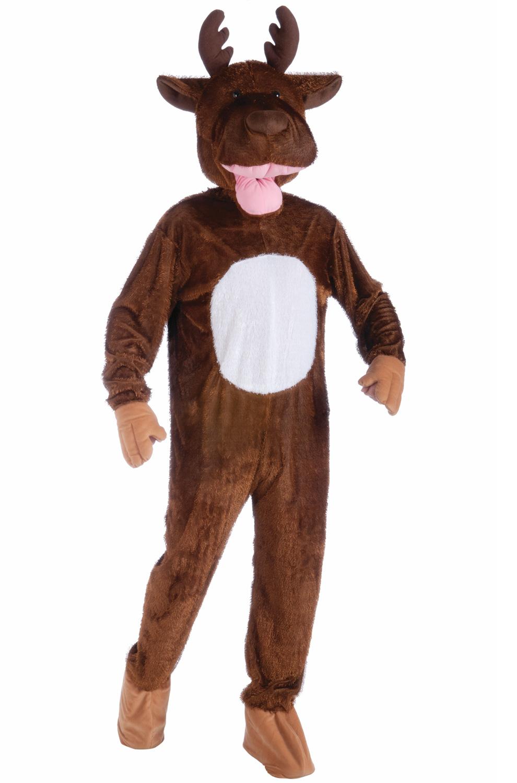 sc 1 st  Pure Costumes & Moose Mascot Adult Costume - PureCostumes.com
