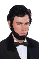 Abraham Lincoln Adult Wig & Beard Set