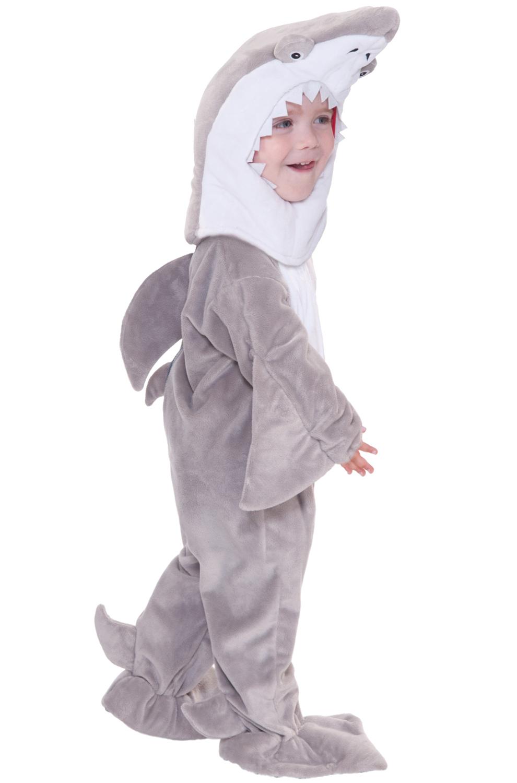 shark attack toddler costume