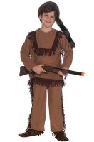 Davy Crockett Child Costume (L)