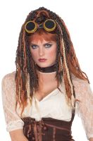 Steampunk Havoc Dreads Adult Wig