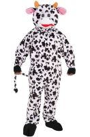 Promotional Cow Mascot Adult Costume
