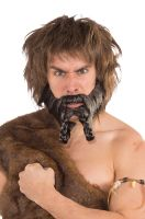 Viking Raider Beard (Brown/Black)