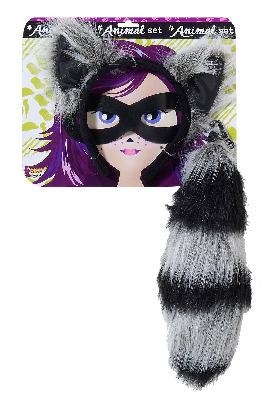 Raccoon Costume Kit Purecostumes Com