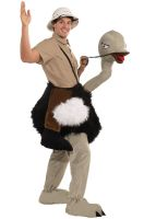 Riding an Ostrich Adult Costume