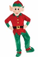 Promotional Elf Mascot Adult Costume