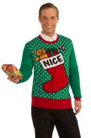 Nice Sweater Adult Costume (X-Large)