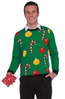 Christmas Sweater Ornaments Adult Costume (M)