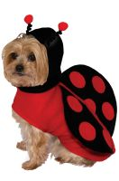 Lady Bug Doggie Pet Costume (X-Small)