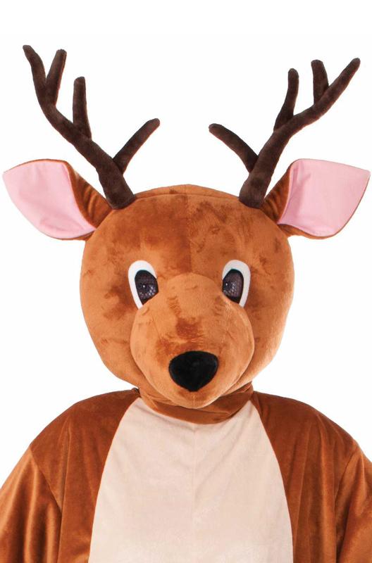 Reindeer Costume Reindeer Mascot Costume Adult