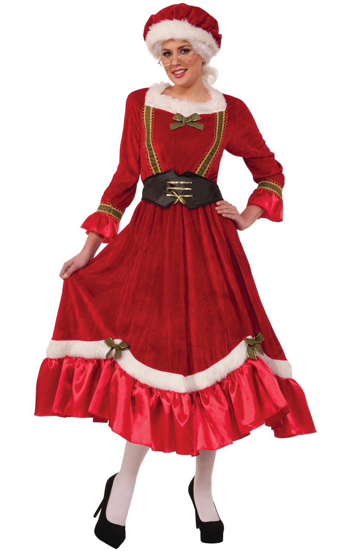 4b41d6ad85b32 Jolly Mrs Santa Claus Adult Costume - PureCostumes.com