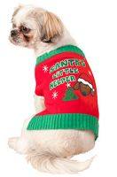 Santa's Lil Helper Pet Costume (M)