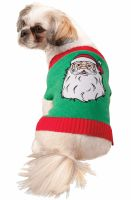 Santa Sweater Pet Costume (S)