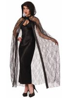 Hooded Spider Web Cape