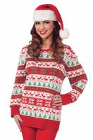 Winter Wonderland Sweater Adult Costume (Large)