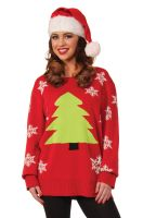 Oh Christmas Tree Sweater Adult Costume (X-Large)
