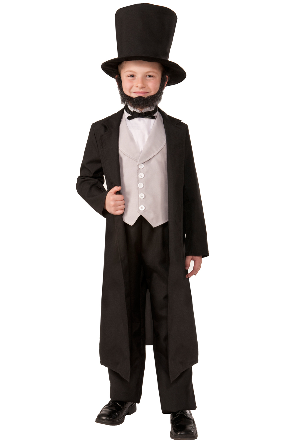sc 1 st  Pure Costumes & Abe Lincoln Child Costume (L) - PureCostumes.com