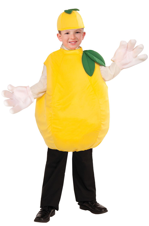 Как сделать костюм лимона своими руками