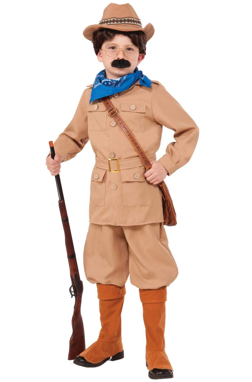 Teddy Roosevelt Kids Costume