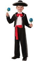 Mariachi Dancer Child Costume (M)