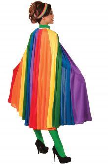 Rainbow Fantasy Cape Gay Pride Fashion