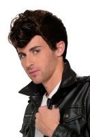 50's Greaser Wig (Brown)
