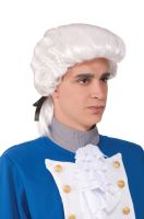 Deluxe Colonial Costume Wig (White)