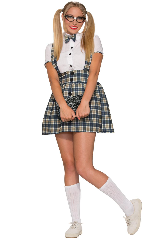 a5565bc409e2 50's Nerd Girl Adult Costume (XS/S) - PureCostumes.com