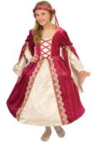 English Princess Child Costume (Large)