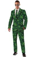 Cannabis Joint Venture Suit Adult Costume (Standard)