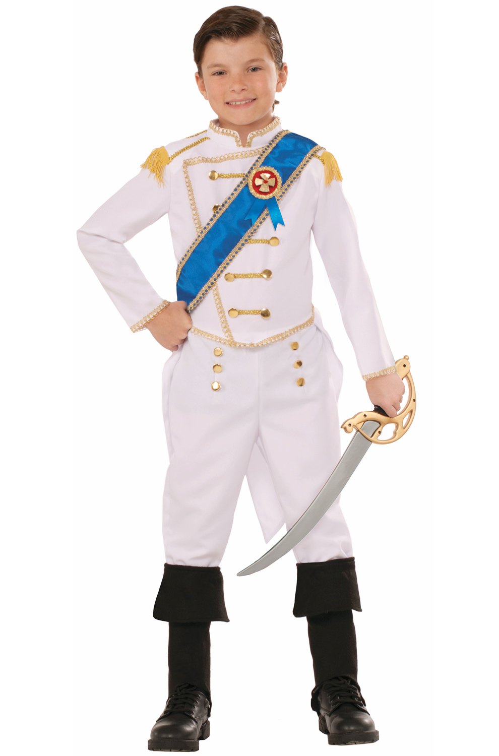 Happily Ever After Prince Child Costume Medium