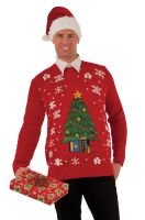 Christmas Tree Sweater Adult Costume (Medium)