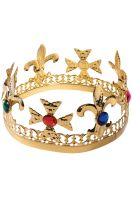 Gold Jeweled Crown
