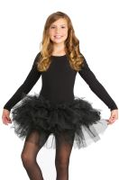 Fluffy Child Tutu (Black)