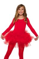 Fluffy Child Tutu (Red)