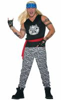 80s Rock Star Adult Costume