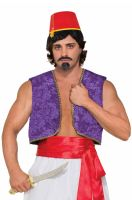 Genie Vest Adult Costume (Purple)