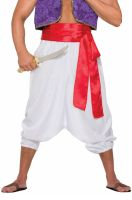 Desert Prince Pants Adult Costume (White)