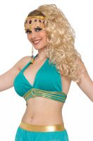 Belly Dancer Harem Top Adult Costume (Green)