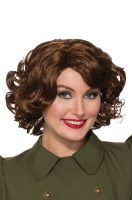 40s Betty Wig (Brown)