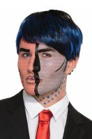 Pop Art Face Tattoo
